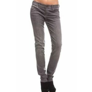 ARMANI EXCHANGE GREAT COND GRAY SKINNY J11 JEANS